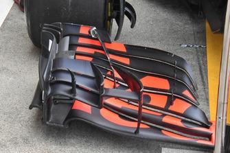 Aileron avant de la monoplace de Daniel Ricciardo, Red Bull Racing RB14