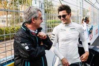Mitch Evans, Panasonic Jaguar Racing on the grid