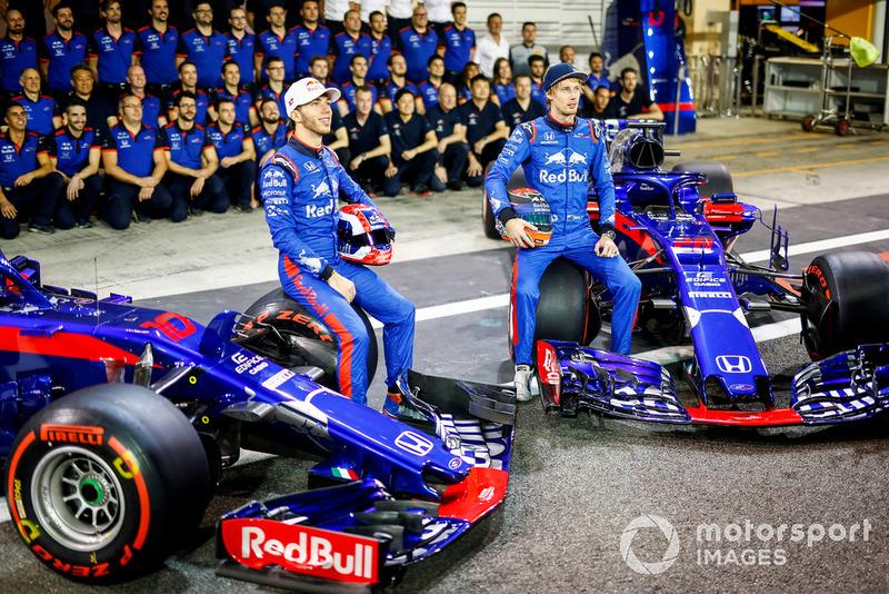 Pierre Gasly, Scuderia Toro Rosso, Brendon Hartley, Scuderia Toro Rosso