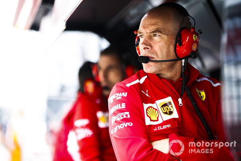 Jock Clear, directeur de l'ingénierie, Ferrari