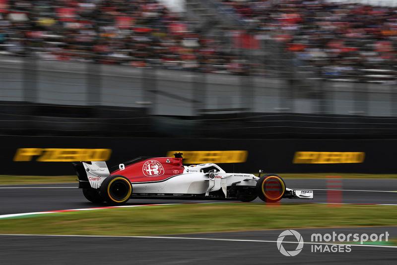 12. Marcus Ericsson, Sauber Marcus Ericsson ((SWE)) Sauber C37