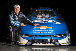 John Force with the 2016 Camaro SS Funny Car