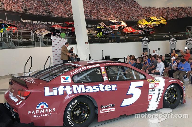 Throwback-Design von Kasey Kahne, Hendrick Motorsports, Chevrolet