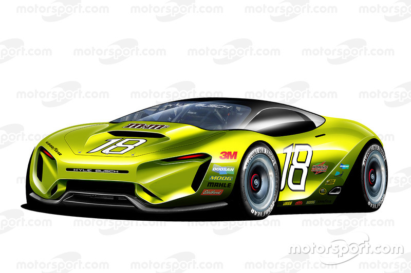 Fantasy NASCAR design of the future