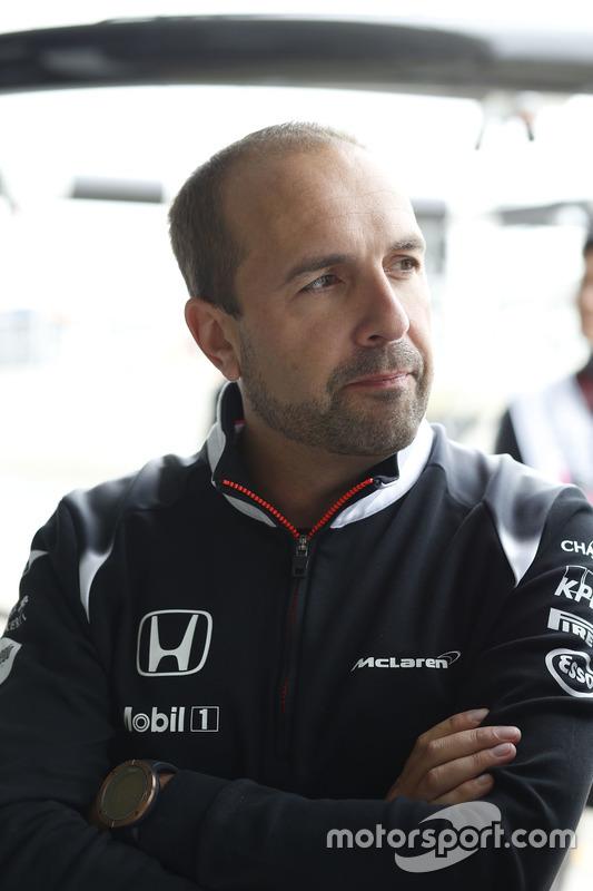 Matt Morris, McLaren Honda Director of Engineering