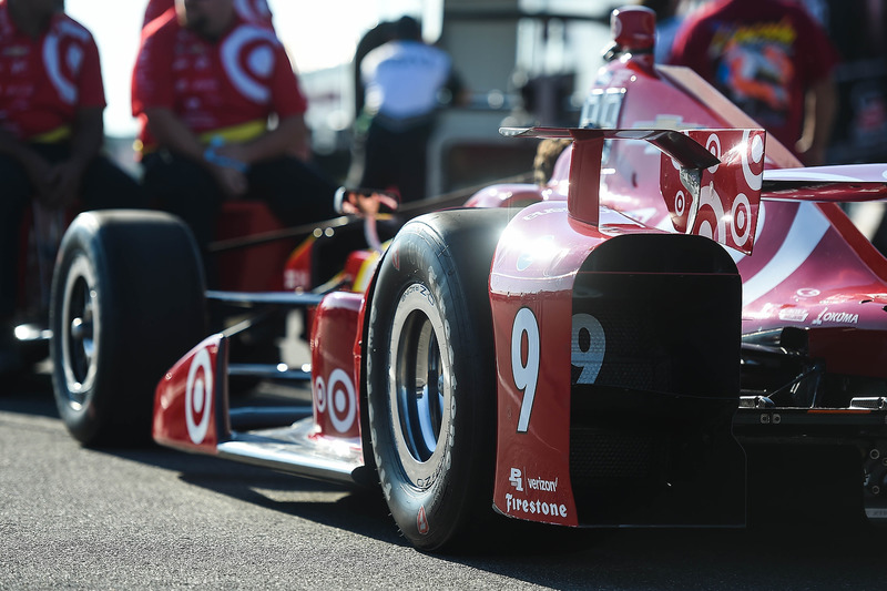 L'auto di Scott Dixon, Chip Ganassi Racing Chevrolet