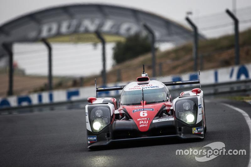 #6 Toyota Racing, Toyota TS050 Hybrid: Stéphane Sarrazin, Mike Conway, Kamui Kobayashi, Alexander Wu