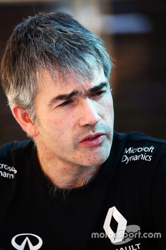 Nick Chester, Renault Sport F1 Team technisch directeur chassis