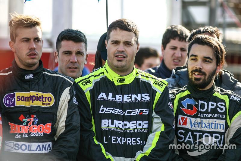 Leonel Sotro, di Meglio Motorsport Ford and Adrian Oubiña, Claudio di Noto Rama y Javier Jack