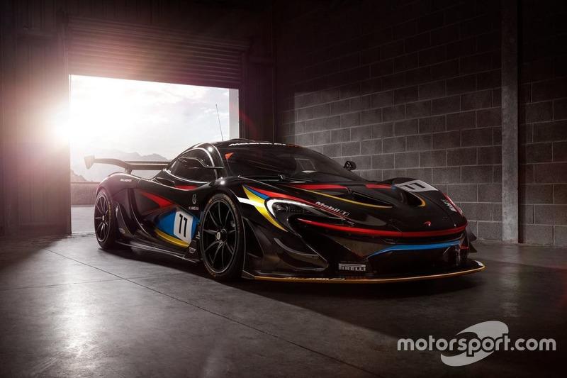 McLaren P1 GTR in James-Hunt-Lackierung