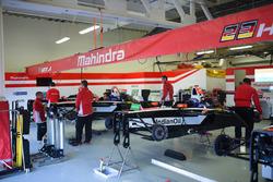 Mahindra Racing garaje