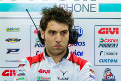 Marco Barbiani, Team LCR Honda, ingeniero de datos
