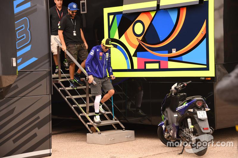 Rossi, l'indestructible