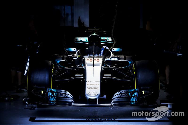 Das Auto von Lewis Hamilton, Mercedes AMG F1 W08