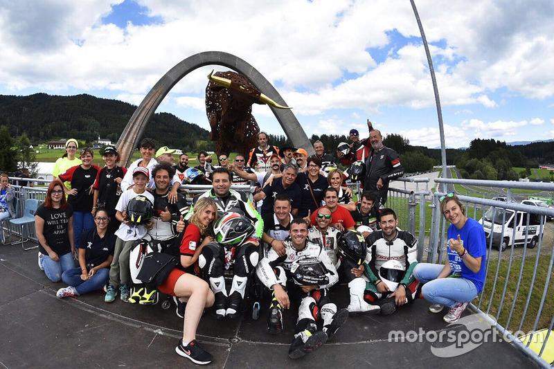 Le podium du Red Bull Ring