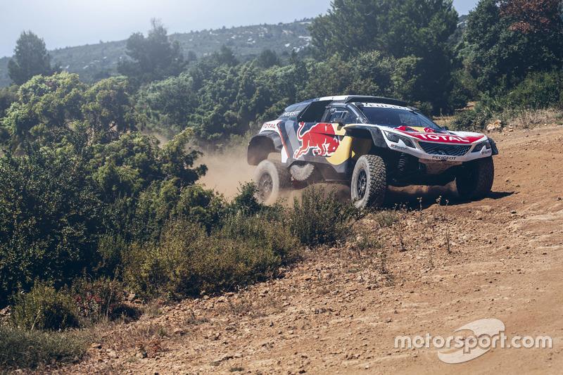 Carlos Sainz, Peugeot 3008 DKR, Peugeot Sport