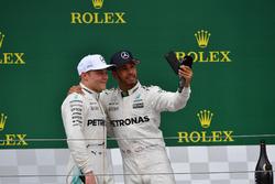 1. Lewis Hamilton, Mercedes AMG F1; 2. Valtteri Bottas, Mercedes AMG F1