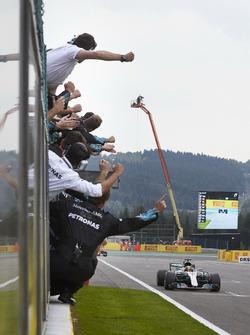 Sieg für Lewis Hamilton, Mercedes AMG F1 W08