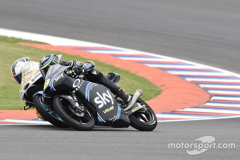 Juan Francisco Guevara, RBA Racing Team; Nicolò Bulega, Sky Racing Team VR46