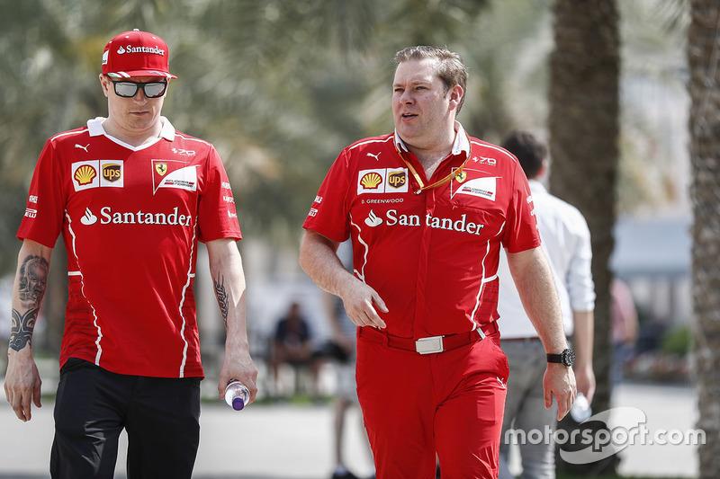 Кімі Райкконен, Ferrari, гоночний інженер Ferrari Дейв Грінвуд