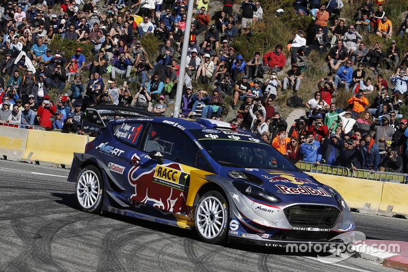 Себастьен Ожье и Жюльен Инграссиа, M-Sport Ford Fiesta WRC