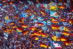 Los fans estaban en vigor para apoyar allí a héroe Michael Schumacher