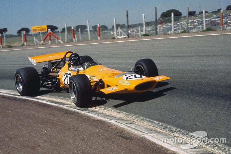 McLaren M7D, двигун Alfa Romeo (1970)