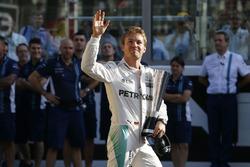 Премия DHL за лучший круг: Нико Росберг, Mercedes AMG F1