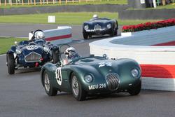 1952 Jaguar C-type, Nigel Webb