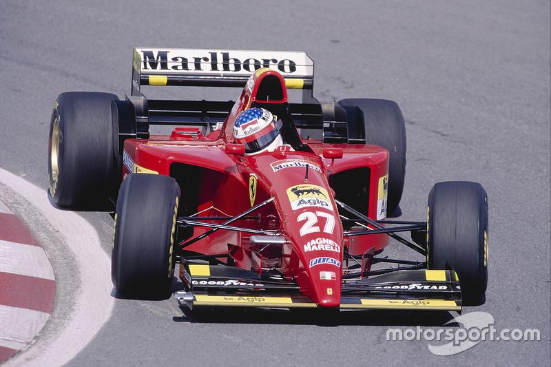 Жан Алезі (Ferrari) - Канада, 1995