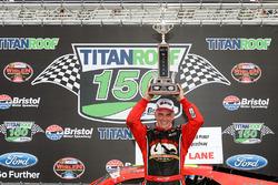 Race winner Michael Stefanik