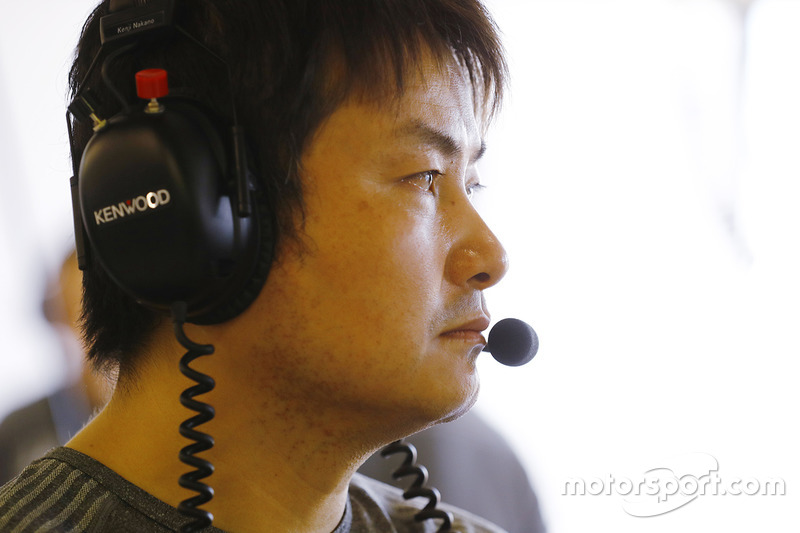 Kenji Nakano, Honda-Chefmechaniker, McLaren-Honda