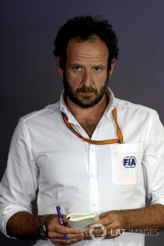 Matteo Bonciani, delegado de medios de comunicación de la FIA
