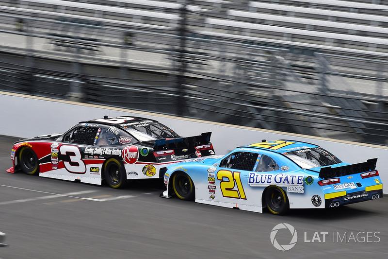 Ty Dillon, Richard Childress Racing Chevrolet y Daniel Hemric, Richard Childress Racing Chevrolet