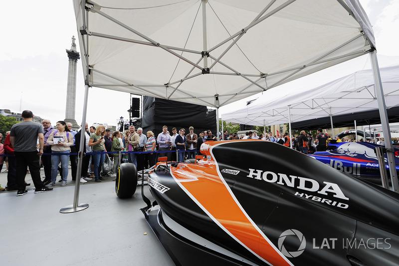 Fans di tenda McLaren