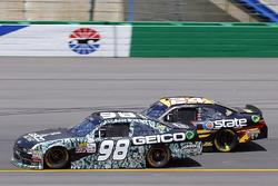 Casey Mears, Biagi-DenBeste Racing Ford ve Jeb Burton, JGL Racing Toyota