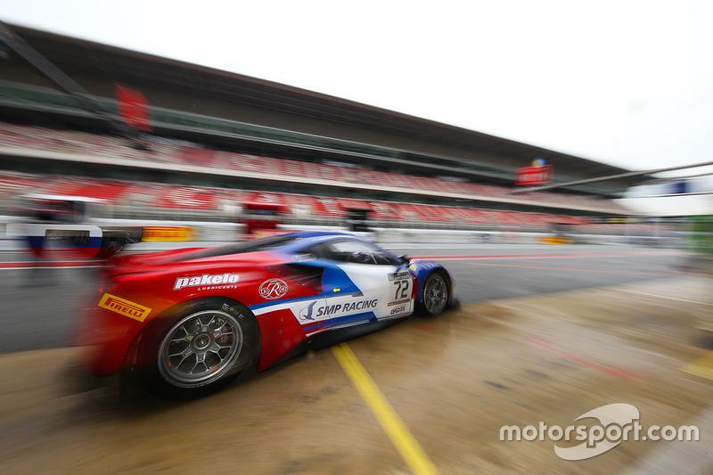 №72 SMP Racing Ferrari 488 GT3: Виктор Шайтар, Мигель Молина, Давиде Ригон