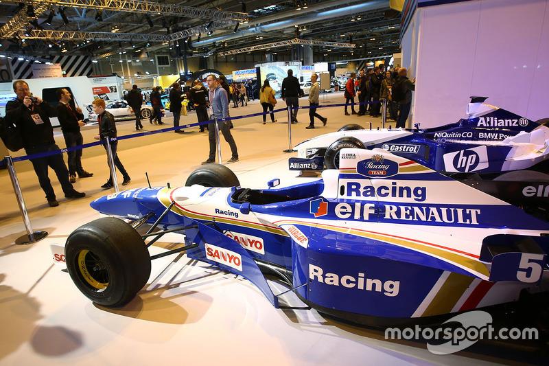 Exhibición de Martini Williams Racing