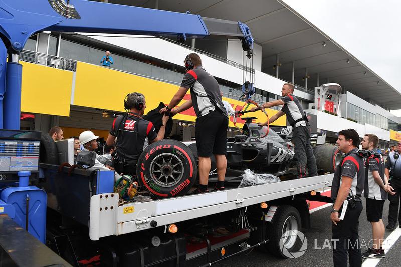 13: Romain Grosjean, Haas F1 Team VF-17