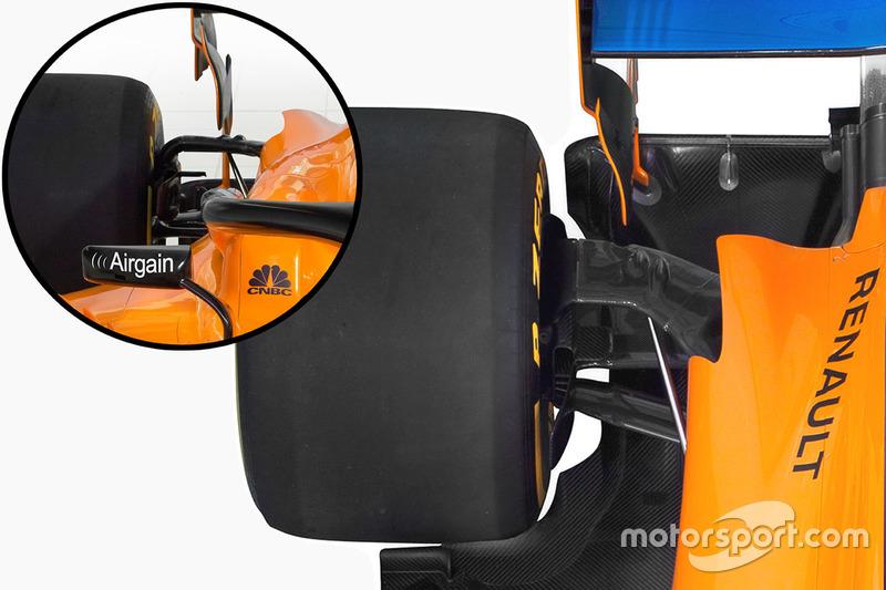 McLaren MCL33, задня підвіска