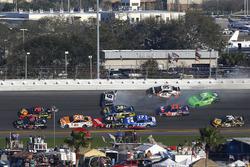 Chase Elliott, Hendrick Motorsports Chevrolet Camaro, Kasey Kahne, Leavine Family Racing Chevrolet Camaro, Danica Patrick, Premium Motorsports Chevrolet Camaro chocan