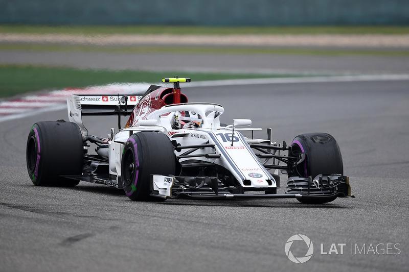 19: Charles Leclerc, Sauber C37, 1'34.454