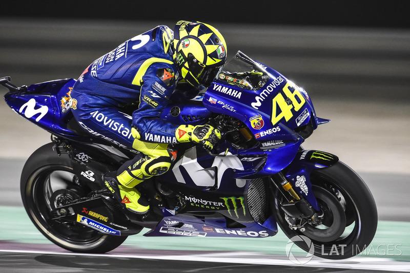 Valentino Rossi confirmou a má fase da Yamaha. Mesmo dando o máximo, ele só foi o oitavo. Maverick VIñales foi ainda pior, e ficou em 12º.