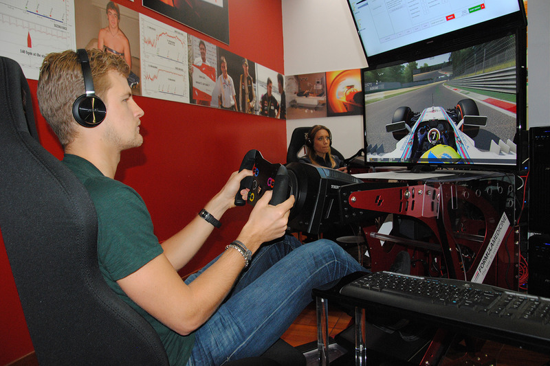 Marcus Ericsson, Journey inside the driver's mind event hosted by Pirelli at Formula Medicine