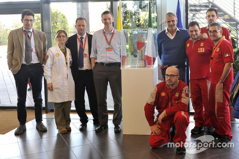 Galibiyet kupası, Ferrari'nin merkezine geliyor