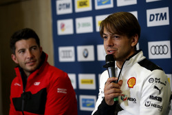 Press Conference, Augusto Farfus, BMW Team RMG, Mike Rockenfeller, Audi Sport Team Phoenix