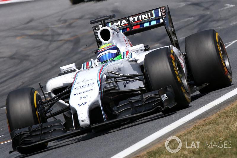 2014: Williams FW36 - 136 puan, şampiyonayı yedinci sırada bitirdi