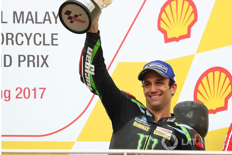 Podium: third place Johann Zarco, Monster Yamaha Tech 3