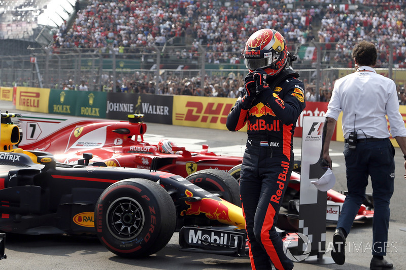 Ganador, Max Verstappen, Red Bull Racing