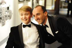 Robert Kubica meets Billy Monger